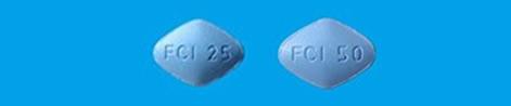 シルデナフィル錠25mgVI「FCI」シルデナフィル錠50mgVI「FCI」